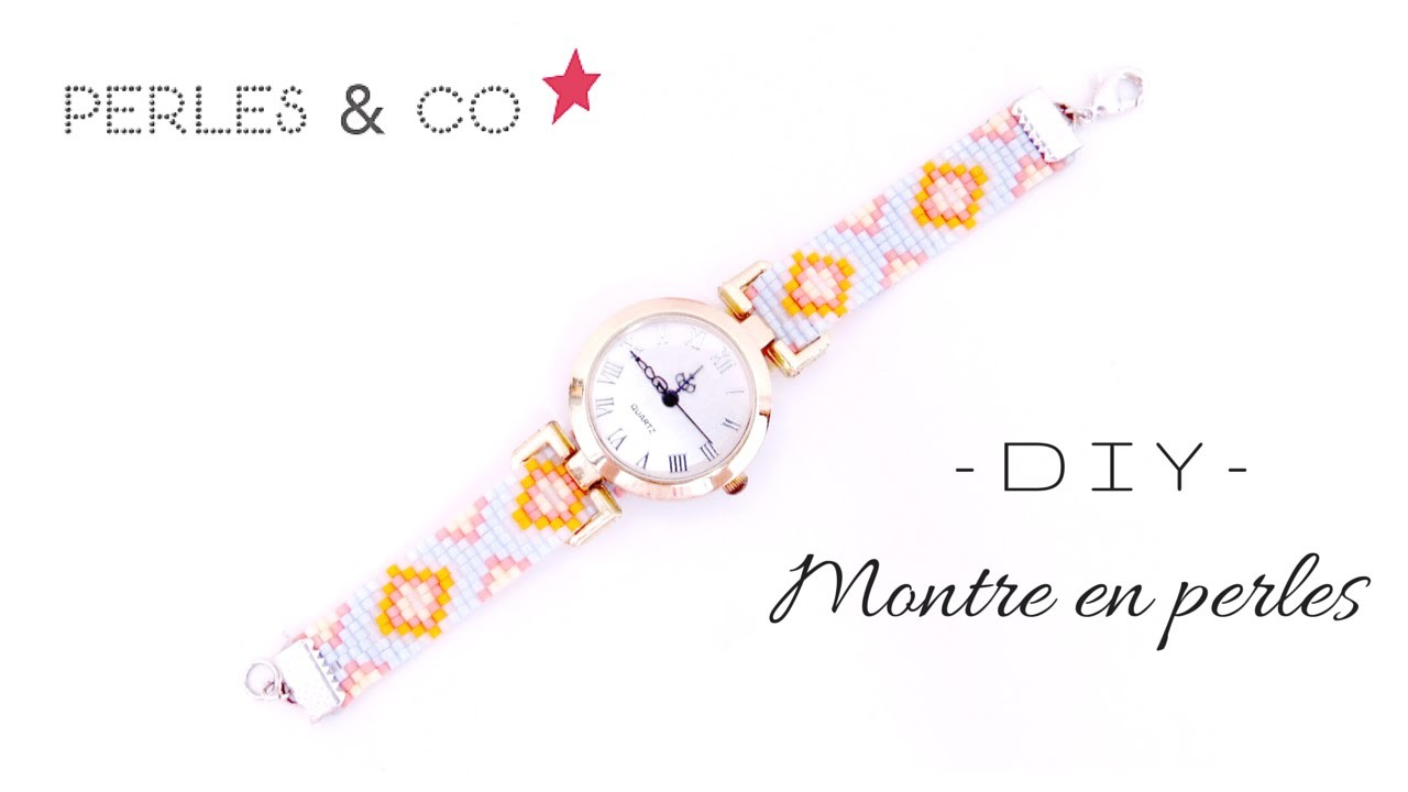 ◇ [DIY] Montre en perles | Watch beads ◇ DIY SUMMER
