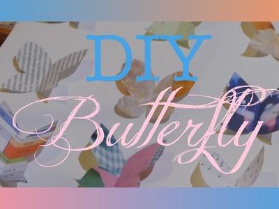 [DIY] Room decor très facile: butterfly!