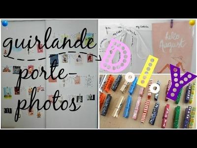 D.I.Y : Guirlande porte-photos