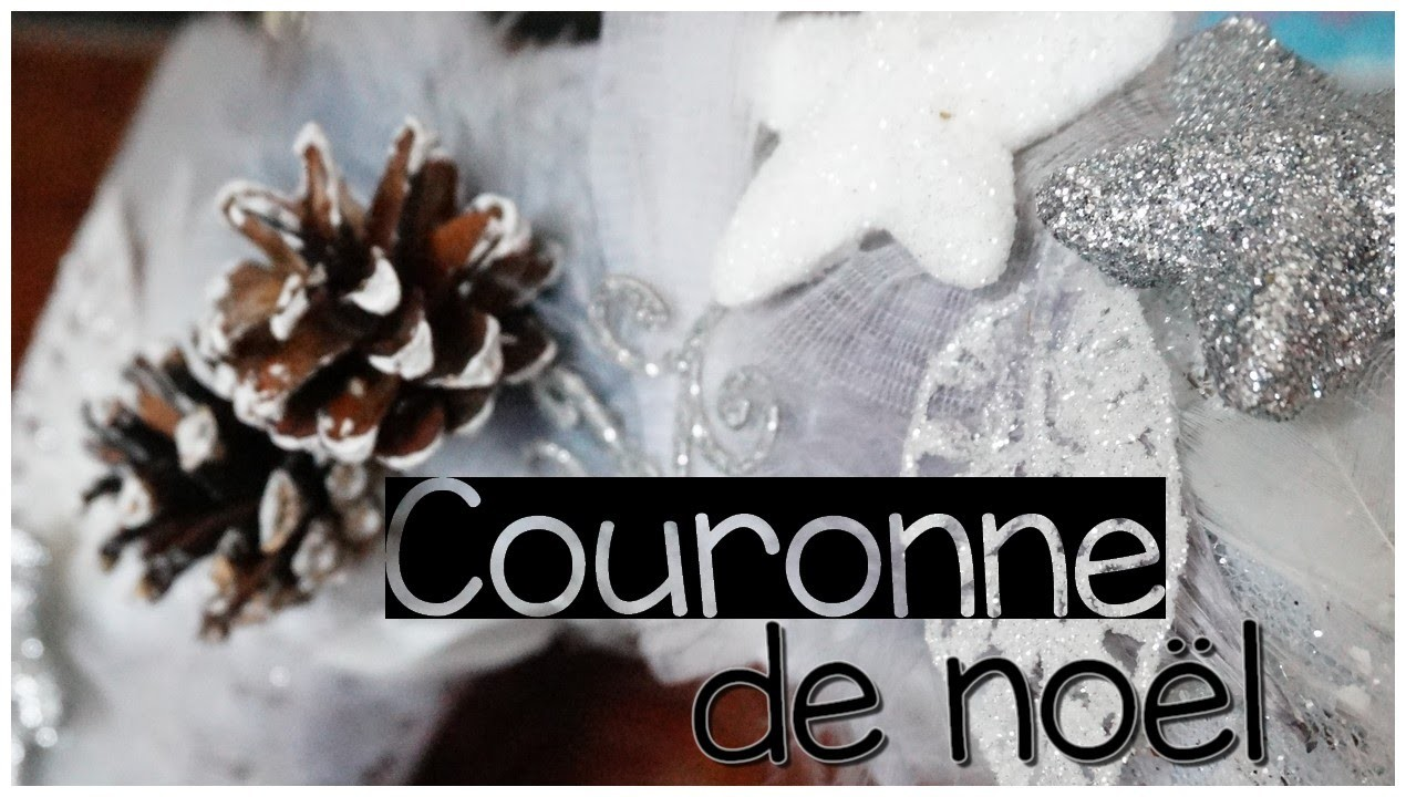 [ DIY n°5 ] : Couronne de noël - CHRISTMAS SERIE