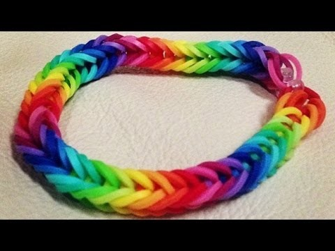 Tutoriel bracelet rainbow loom