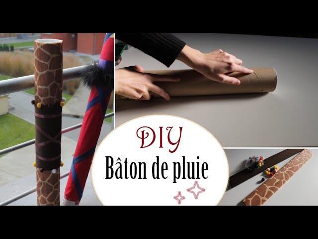 DIY: Créer un bâton de pluie. How to make a rainstick