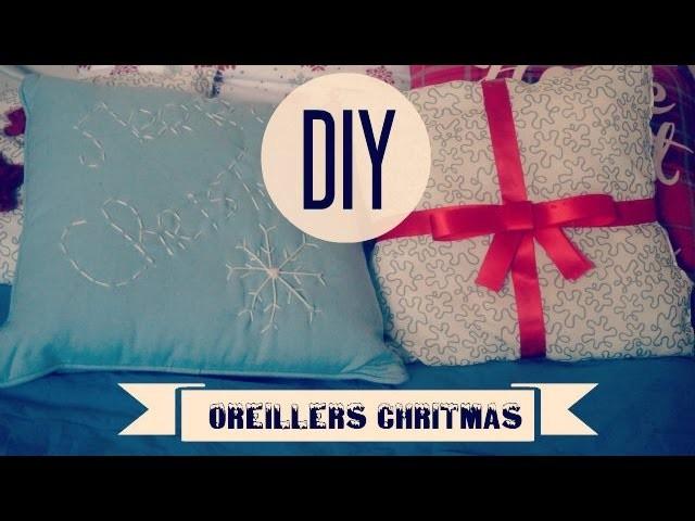 DIY Décoration de Noel #1 : Oreillers Christmas