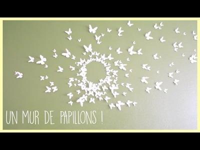 [diy]  Un mur de papillons ! - Zaïna -