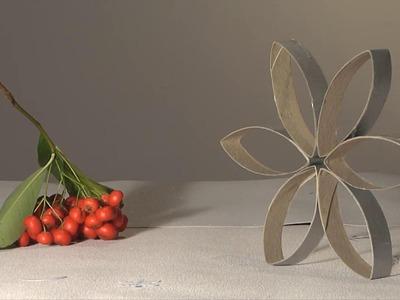 Noel deco !! Christmas decoration !! etoile carton sopalin diy