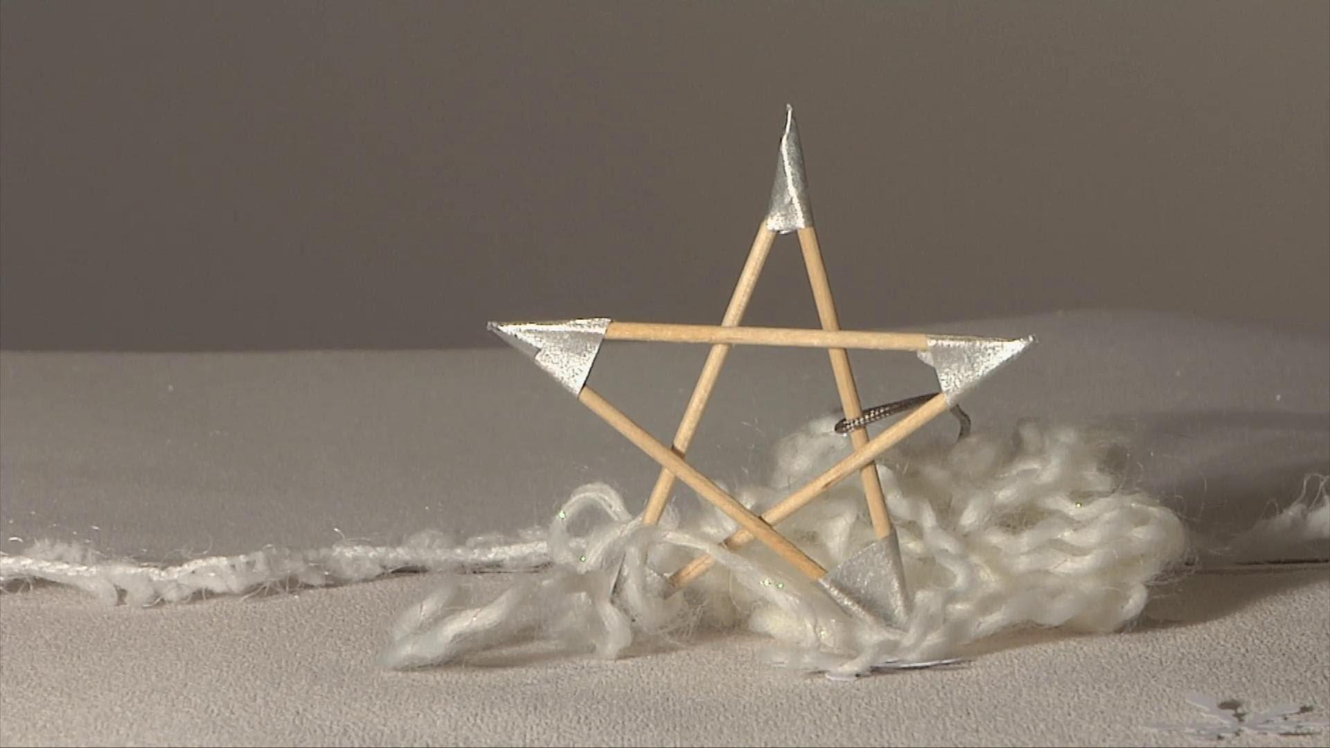 noel d co christmas decoration etoile cure dent diy. Black Bedroom Furniture Sets. Home Design Ideas