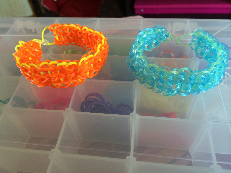 Loom #1 Bracelet 3 rangs (en français)(Rainbow Cra'Z Loom)