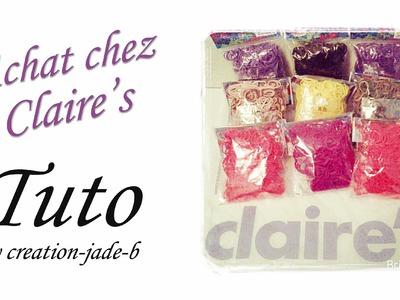 Claire's - Promo Rainbow Loom !
