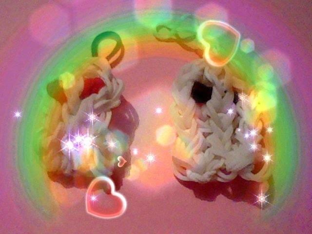 HALLOWEEN-Fantôme-gost-rainbow loom -en français tuto