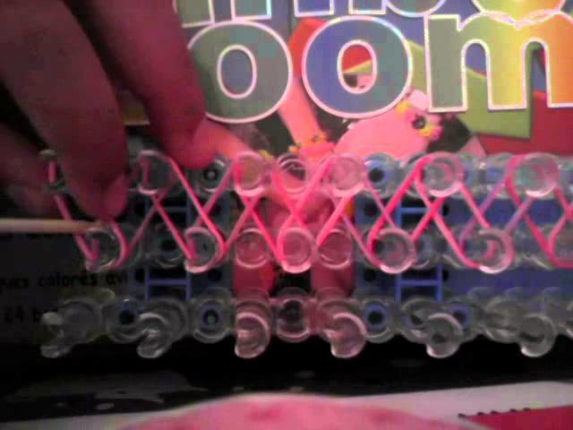 { Niveau Débutant } Bracelet Rainbow Loom® simple