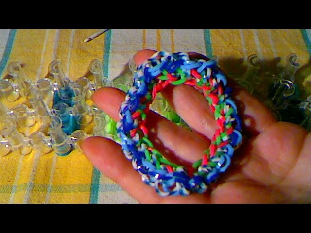 Rainbow loom francais :bracelet twist (loom band)