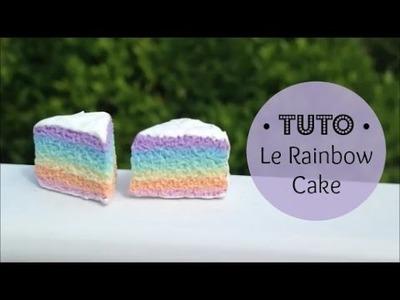 • [TUTO FIMO] Le Rainbow Cake pastel •