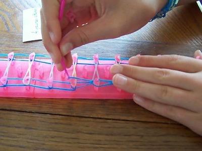 Bracelet boucle RAINBOW LOOM facile et rapide