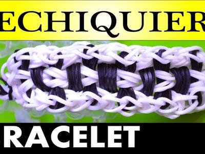Comment faire des bracelets avec des élastiques (Echiquier rainbow loom)