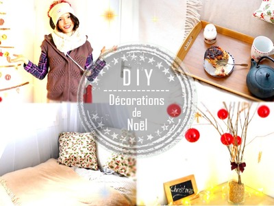 DIY | DÉCO DE NOËL. Christmas Homemade Room Decor - Claire