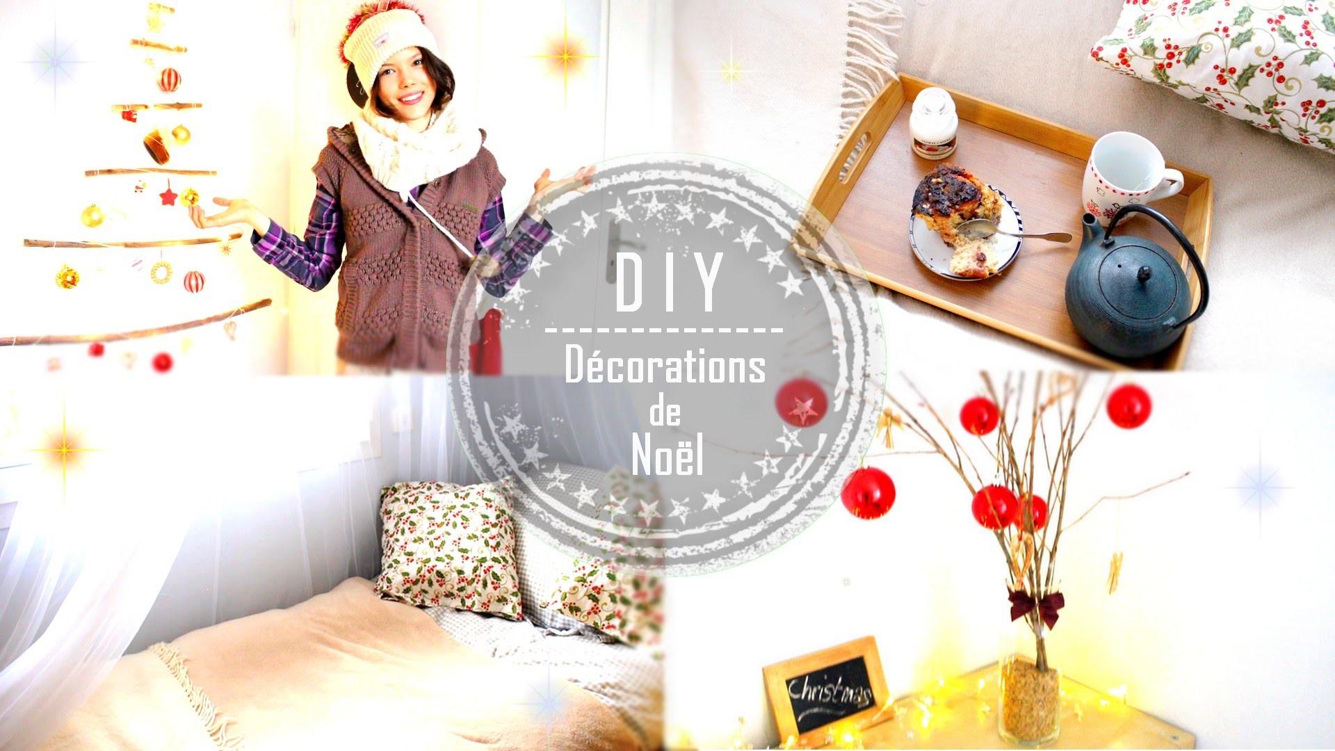 DIY | DÉCO DE NOËL. Christmas Homemade Room Decor - Claire