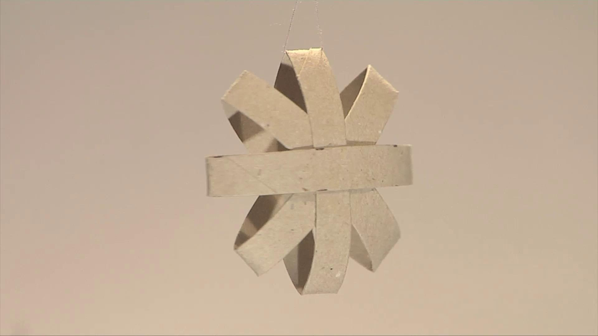 Noel deco !! Christmas decoration !! carton wc rouleau recyclage diy
