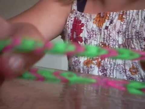 Tuto Bracelet rainbow loom queue de poisson