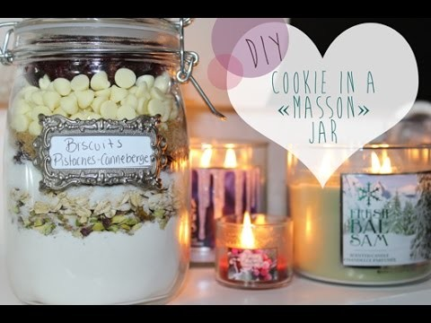 10 jours de MU| Cookie-in-a-jar DIY
