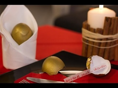 DIY Saint-Valentin : Fortune Egg