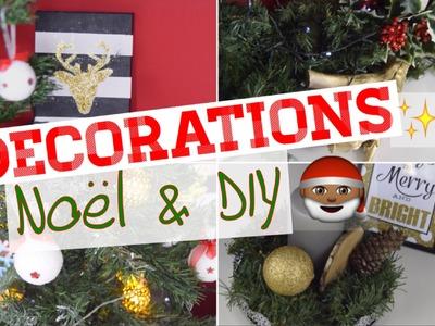 MES DECORATIONS DE NOËL 2015 + DIY