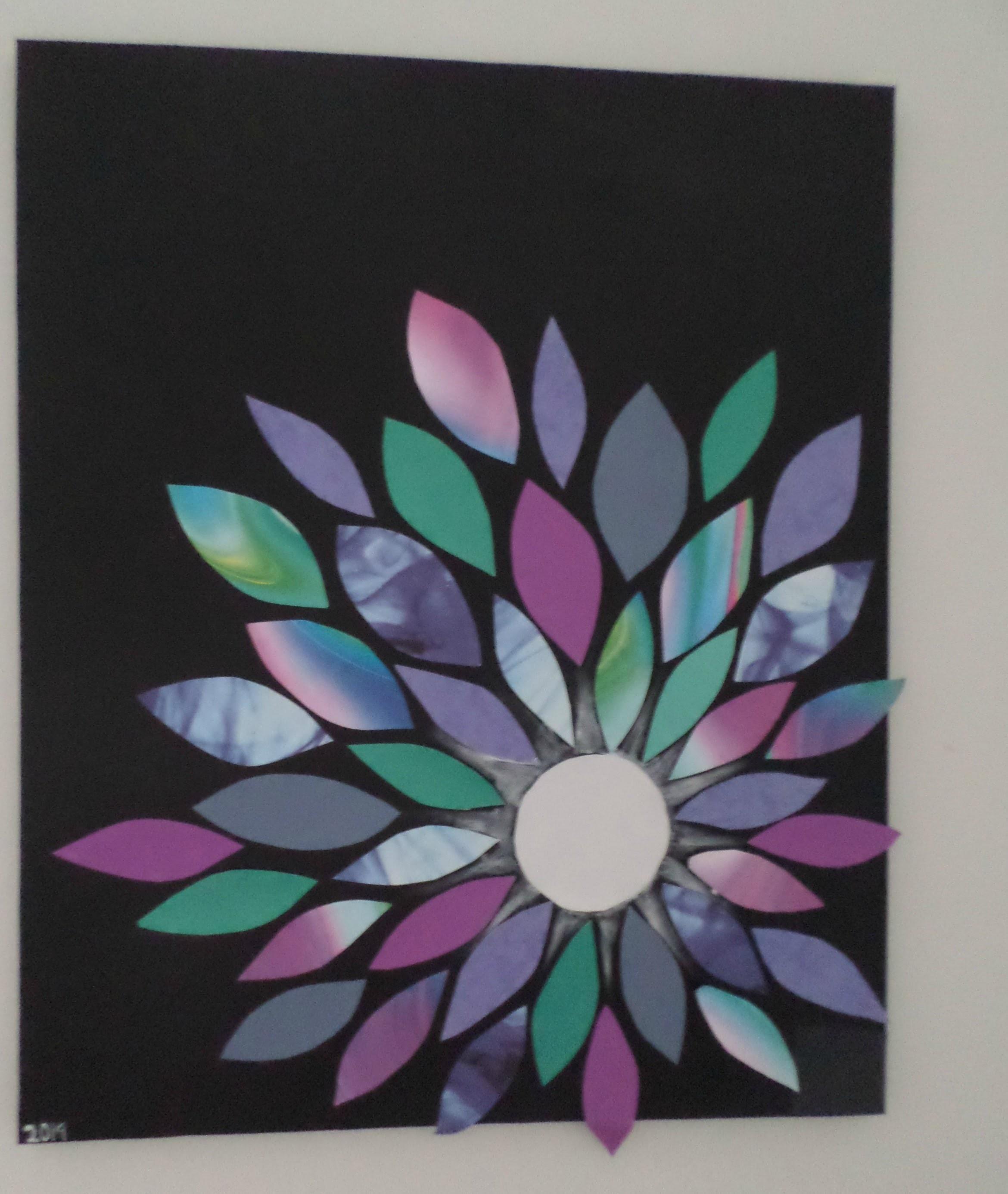DIY Déco Chambre#1 : Fleur sur toile
