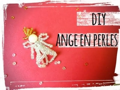 Diy noël : ange en perles