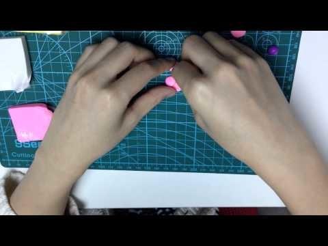 Argile polymère - Fabrication de fleurs - artisanat【POLYMER CLAY】00020 fr