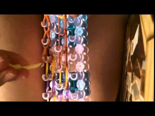 Bracelet élastique - Serpent élastique en rainbow loom