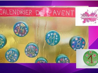 """DIY. """"Calendrier de l'avent"""". Activité recyclage pour enfants."""