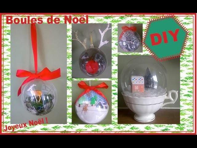 ❅ DIY : Boules de Noël ❅
