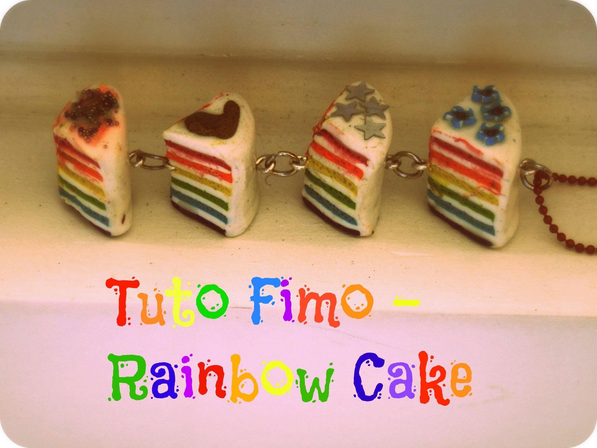 Tuto Fimo - Rainbow Cake