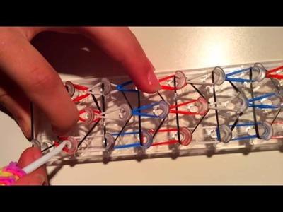 Vidéo n°5 : Comment faire un bracelet élastique rainbow loom ( en français )