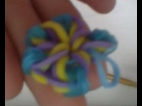 [Tutoriel] Comment faire une fleur en Rainbow Loom - Français