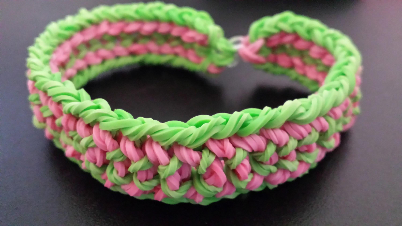 Bracelet Rainbow loom - Tutoriel Français