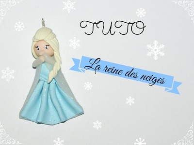 TUTO FIMO → La reine des neiges. Elsa - Frozen Polymer clay Tutorial