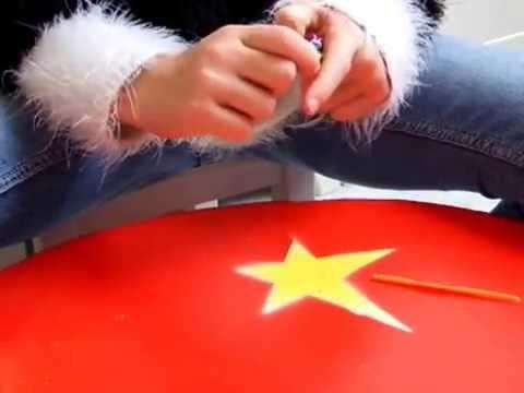 Bracelet rainbow loom :  'la reine des neiges'