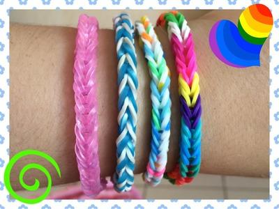 Loom #12 Bracelet Simple (En Français)(Rainbow Loom)