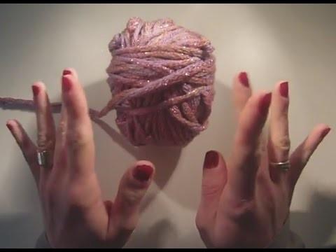 Tricoter avec les doigts méthode du crochet pas a pas