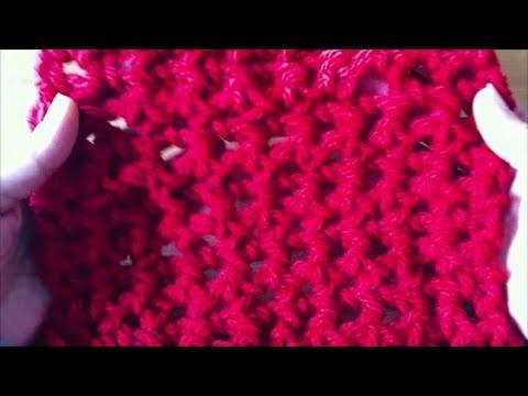 Tutoriel crochet  - comment crocheter avec les doigts