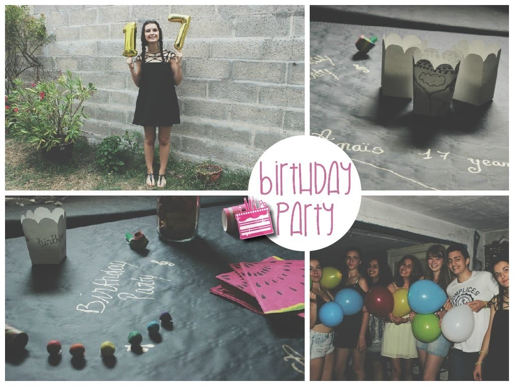 Birthday party. diy, hair, makeup & outfit