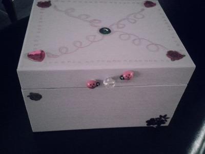 [DIY] Customiser la boîte à bijoux