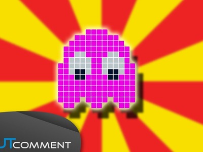 Perler Beads Tutorial : Pac Man Ghost