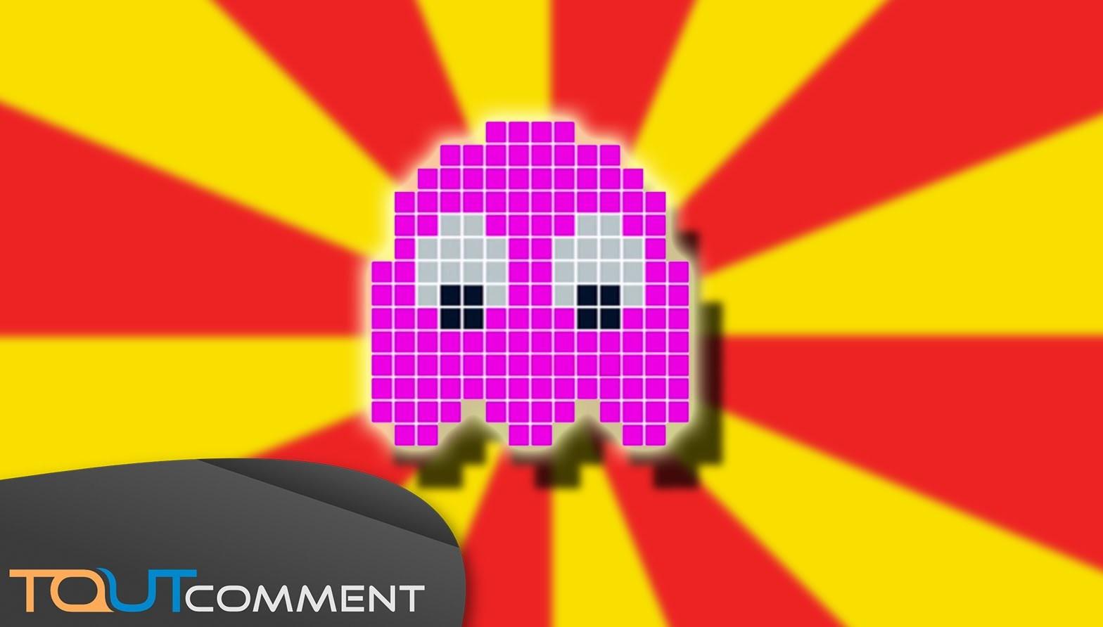 Perler Beads Tutorial : Pac Man Ghost
