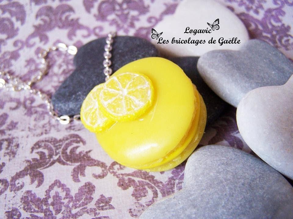 Tuto Fimo : la tranche de citron SANS CANE - Polymer lemon slice tutorial NO CANE