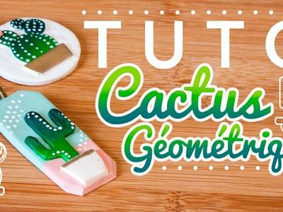 #YWC - Tuto Cactus Graphique & Géométrique - FIMO - Polymer Clay