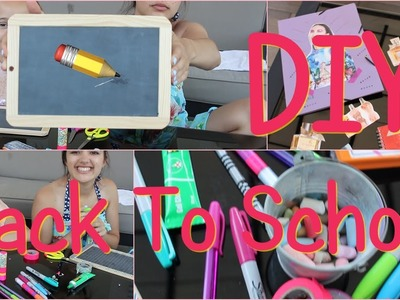 Back To School : DIY de rentrée