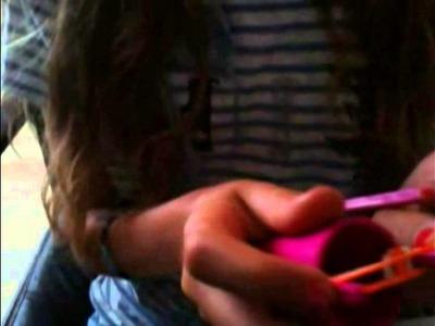 Comment faire un bracelet double ( Rainbow loom. Cra-z-loom )