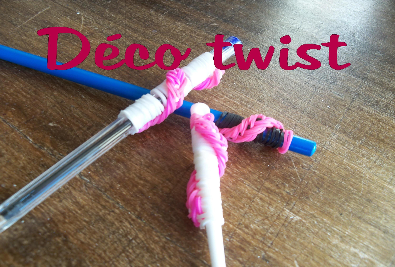 △ Life Summer ▽ ♡ Déco twist pour crayon , crochet .  | Simple a réaliser [FR]