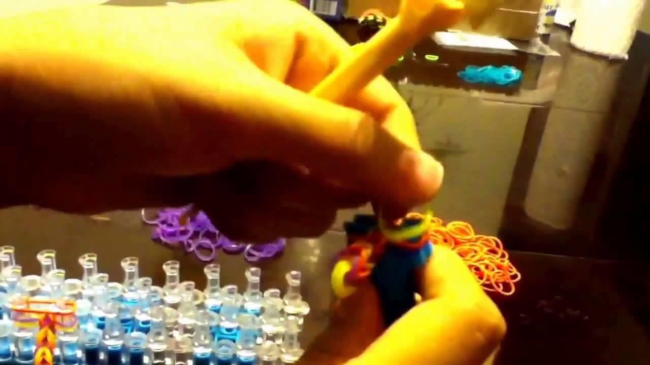 Rainbow loom bracelets  comment gagner de bracelets rainbow loom